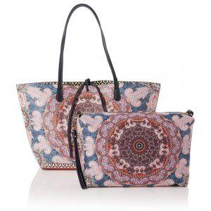 Desigual Shopper Women Fuchsia/Pink