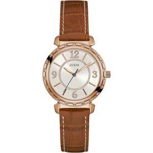 Guess W0833L1 - Montre pour femme avec bracelet en cuir