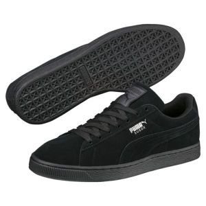 Puma Suede Classic+ - Baskets mode - Mixte Adulte - Noir (Black/Dark Shadow) - 41 EU