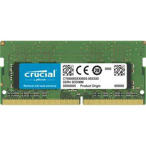 Crucial CT4G4SFS632A 4Go (DDR4, 3200 MT/s, PC4-25600, CL22, Single Rank x16, SODIMM, 260-Pin) Mémoire