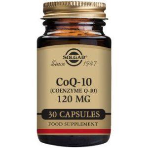 Solgar Coenzyme Q-10 120 mg 30 Gélules Souples