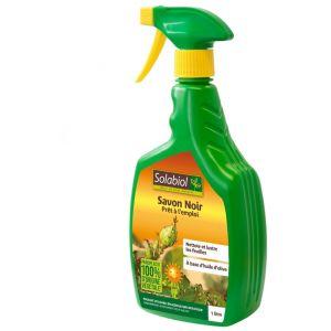 Solabiol Savon noir prêt à l'emploi 1L - 100% naturel