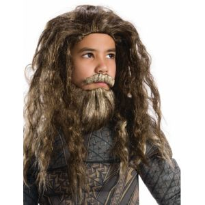 Perruque et barbe enfant Aquaman