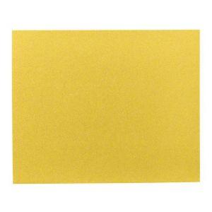 Bosch 2608608693 - Lot de 50 Feuilles abrasives spécial bois et peinture pour ponceuse vibrante 230x280mm grain 180