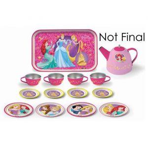 Smoby Service à thé métal Disney Princesses