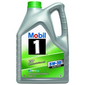 Mobil 1 Huile ESP 5 W30 151060 Synthetic, Gold, 5 l