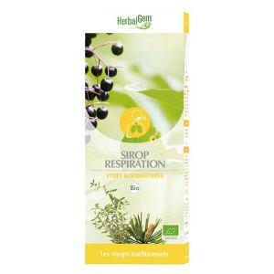 Herbalgem Sirop pour la Respiration Bio - 250 ml