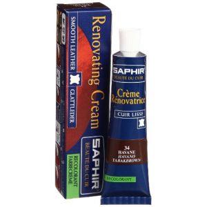 Saphir Crème rénovatrice 25 mL - havane