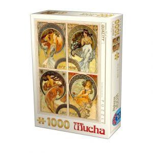 Dtoys Puzzle 1000 Pièces Mucha - Arts
