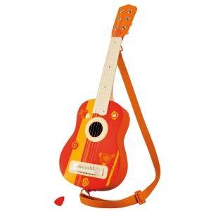 Trudi Sevi Guitare acoustique en bois