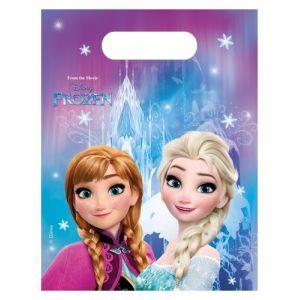 6 sacs à cadeaux La Reine des Neiges