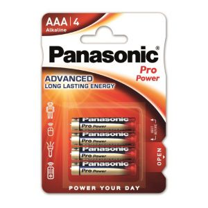 Panasonic Pro Power x4 piles alcalines LR03
