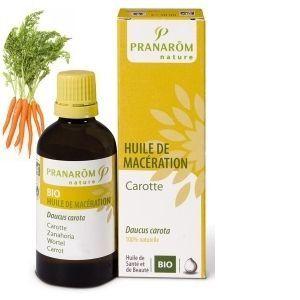Pranarôm Huile de macérât de carotte bio