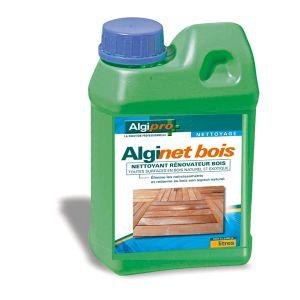 Algimouss Alginet bois - Nettoyant rénovateur de bois bidon de 1 litre