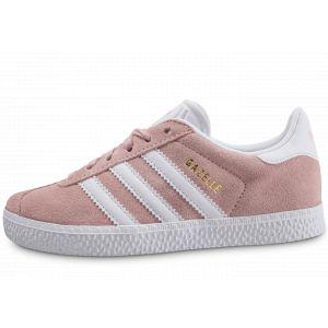 Adidas Gazelle C, Chaussures de Fitness Mixte Enfant, Rose (Roshel/Ftwbla/Dormet 000), 29 EU