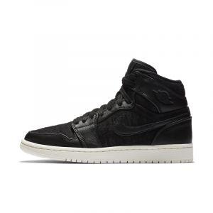 Nike Chaussure Air Jordan 1 Retro High Premium pour Femme - Noir Noir - Taille 37.5