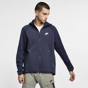 Nike Sweatà capuche entièrement zippé Sportswear Tech Fleece pour Homme - Bleu - Couleur Bleu - Taille XS