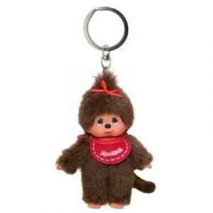 Bandai Porte-clés Monchhichi Fille rouge