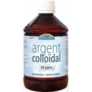 Biofloral Argent Colloïdal 20PPM 500mL