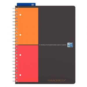 Oxford 400010756 - Cahier Managerbook rel. intégrale A4+ 160 pages 80g/m², projet