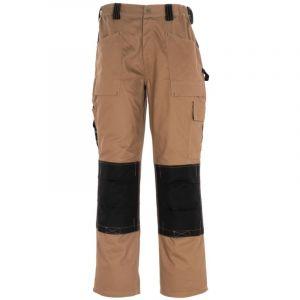 Dickies Pantalons de travail GDT 290 multifonctionnel Kaki/noir L/36W (Regular)