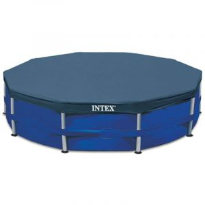 Intex Couverture de piscine ronde 457 cm 28032