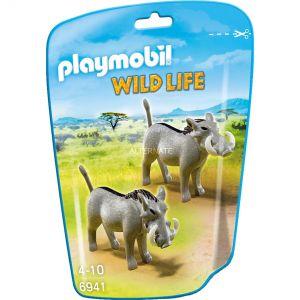 Playmobil 6941 Wild Life - Phacochères
