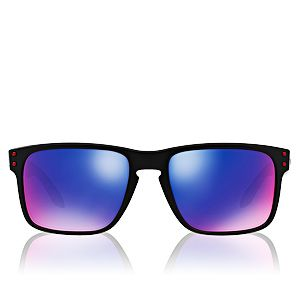 Oakley Holbrook 9102-36 Matte Black/Positive Red Iridium