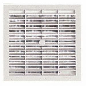 Nicoll Grille carrée moustiquaire passage de 150 cm² B164 -