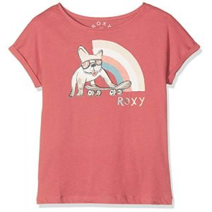 Roxy T shirt rose fille boyfriend tee 10 ans