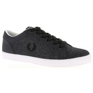 Fred Perry Baseline Bonded Marl - Baskets Homme, Gris