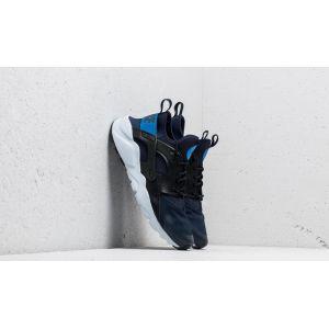Nike Air Huarache Run Ultra GS Obsidian/ Signal Blue-Black
