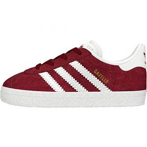 Adidas Chaussures GAZELLE I / BORDEAUX rouge - Taille 22,27,26 1/2