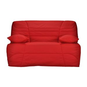 Housse couette spéciale rénovation pour banquette Rouge Taille 90x190 cm;140x190 cm;160x200 cm