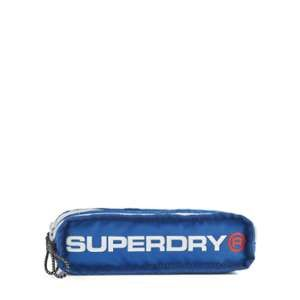 Superdry Trousse 2 Compartiments Noir