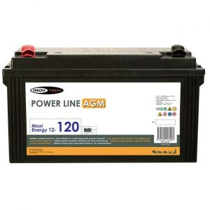 Inovtech Batterie 128Ah Power Line AGM réf. 496179