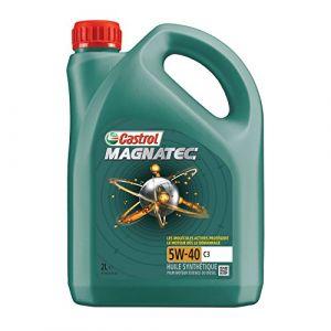 Castrol 055112 Huile Moteur Magnatec 5W-40 C3, 2 L