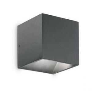 Ideal lux Applique extérieure RUBIK Anthracite LED 7W