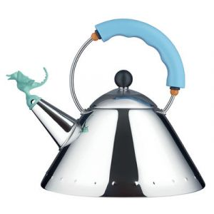 Alessi Tea Rex - Bouilloire à sifflet en bec de dinosaure 2 L
