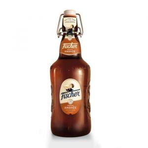 Fisher VP bière ambrée aromatisée d'Alsace - 65 cl - 6,3°