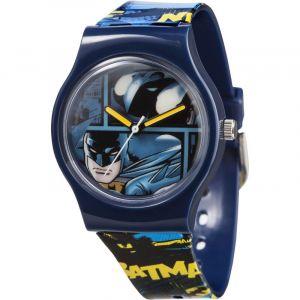 Batman BAT45DC Montre à quartz à affichage analogique avec cadran bleu et bracelet plastique multicolore