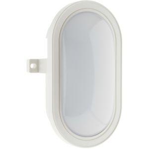 Elexity Hublot ovale LED 5,5W 450lm 4000k IP44 - Blanc