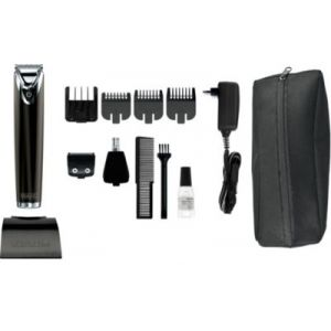 Wahl Stainless Steel - Tondeuse barbe et corps Black Edition