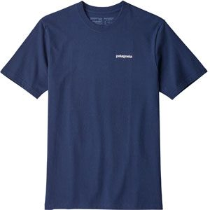 Patagonia P-6 Logo Responsibili-Tee - T-shirt taille S, bleu
