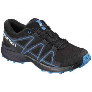 Salomon Chaussures Speedcross Junior - Black / Graphite / Hawaiian Surf - Taille EU 35