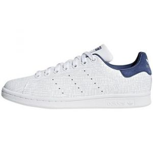 Adidas Stan Smith, Baskets Femme, Blanc Footwear White/Noble Indigo 0, 36 EU