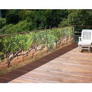 Brise-vue de jardin Vignes