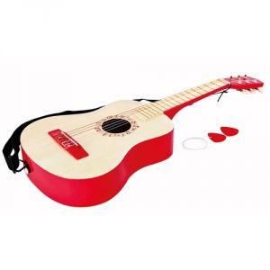 Hape E0325 - Guitare rouge de concert
