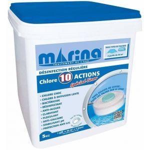 Marina Chlore 10 actions spécial Liner 5 kg