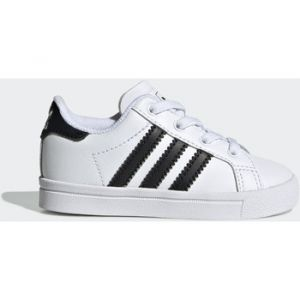 Adidas Chaussures enfant Chaussure Coast Star blanc - Taille 19,20,21,22,23,24,25,26,27,23 1/2,25 1/2,26 1/2